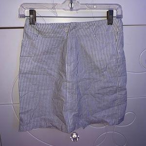Brandy Melville White skirt